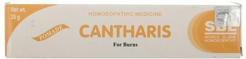 SBL Homeopathy Cantharis Gel