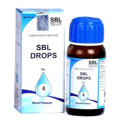 SBL Homeopathy Drops 4 BP Blood Pressure