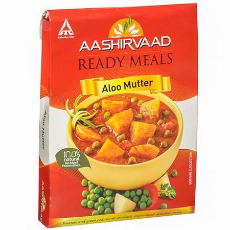 Aashirvaad Aloo Mutter