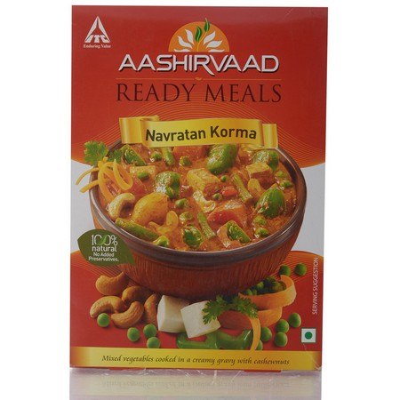 Aashirvaad Navratan Korma