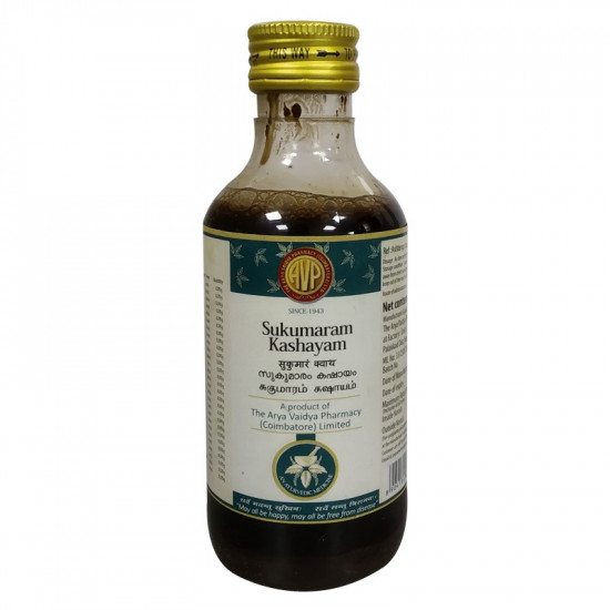 Arya Vaidya Pharmacy Sukumaram Kashayam