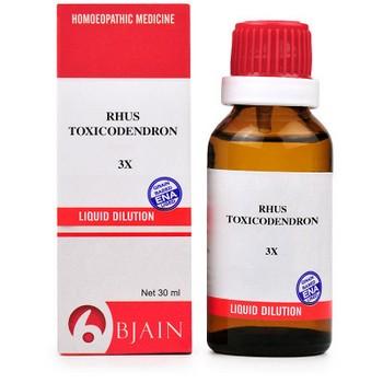 B Jain Rhus Toxicodendron 3X Dilution