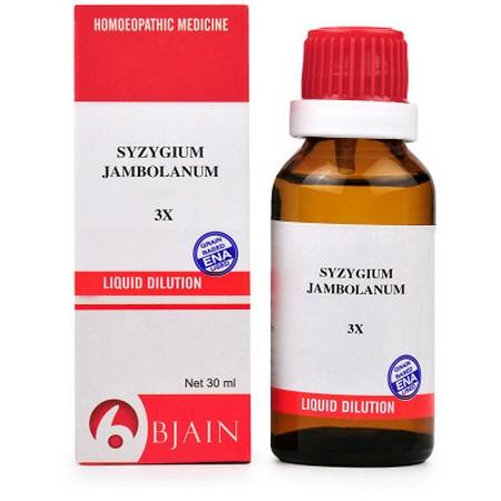 B Jain Syzygium Jambolanum 3X Dilution