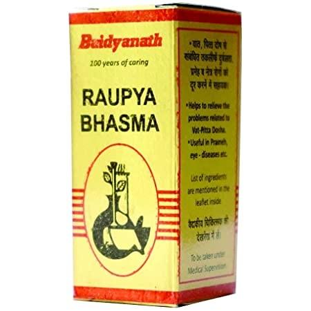 Baidyanath Raupya Bhasma
