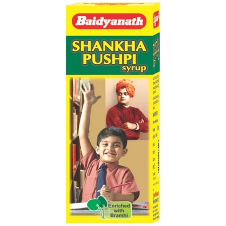 Baidyanath Shankha Pushpi Syrup