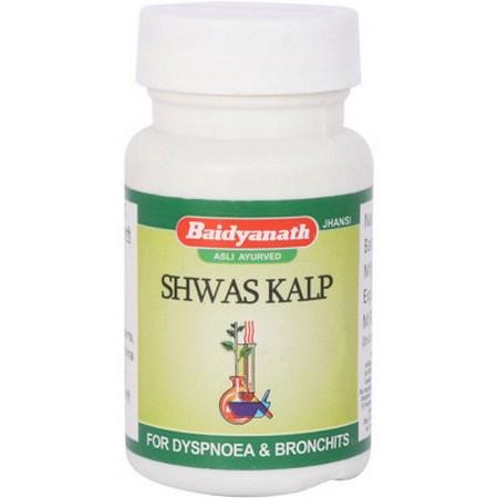 Baidyanath Shwas Kalp Tab