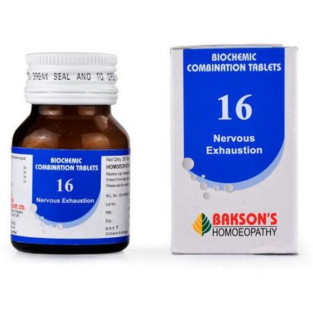 Bakson Biochemic Combination 16
