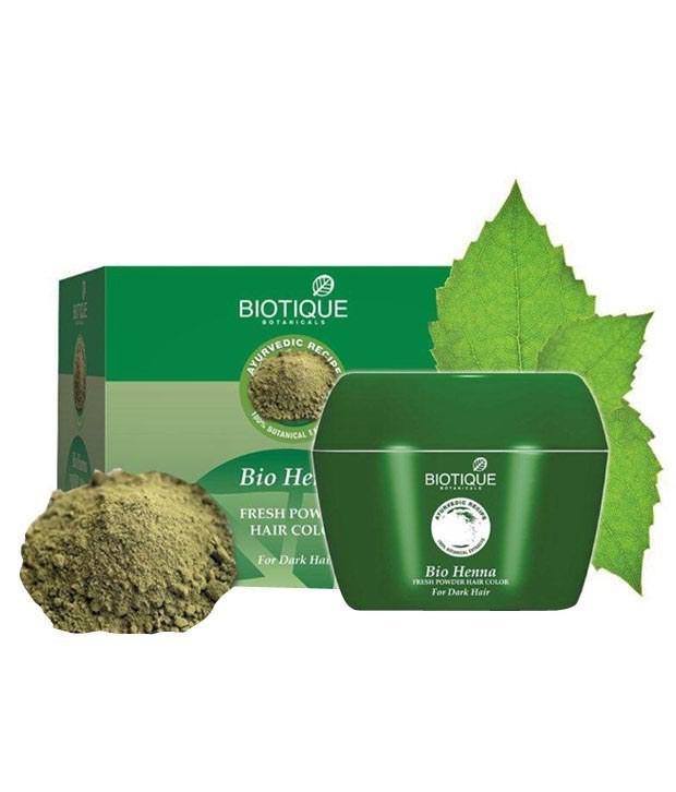 Biotique Bio Henna Leaf Pack Fresh Powder Hair Color