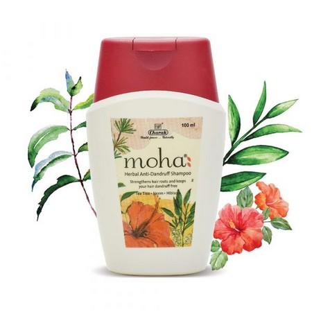 Charak Pharma Moha Herbal Anti-Dandruff Shampoo