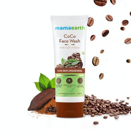 Mamaearth CoCo Face Wash with Coffee and Cocoa for Skin Awakening
