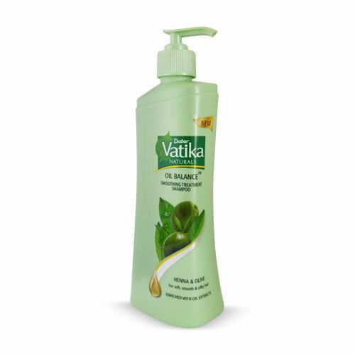 Dabur Vatika Oil Balance Smoothing Treatment Shampoo