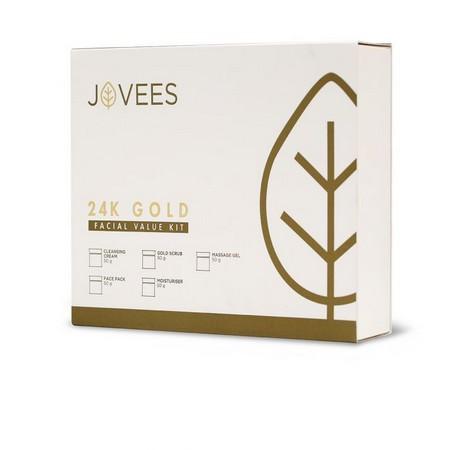 Jovees 24 Carat Gold Facial Value Kit