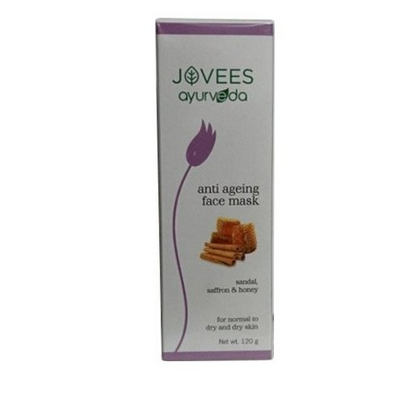 Jovees Sandal Saffron and Honey Anti Ageing Face Mask