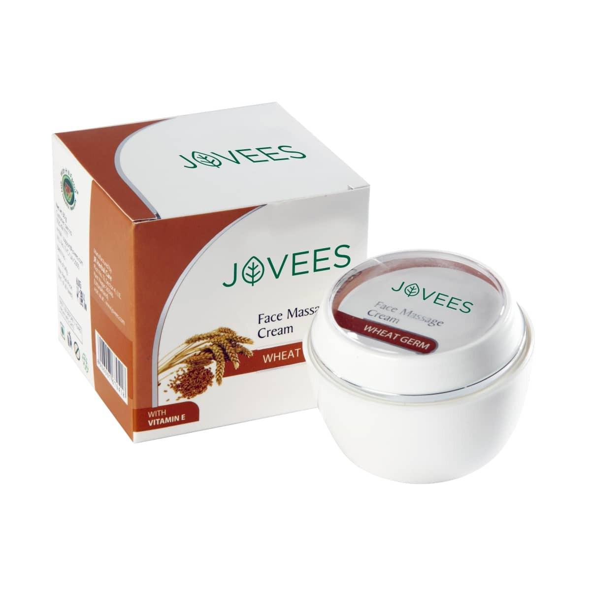 Jovees Wheatgerm with Vitamin E Face Massage Cream