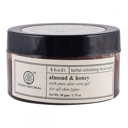 Khadi Almond And Honey Gel Scrub