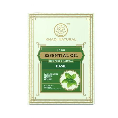 Khadi Basil Pure Essential Oil