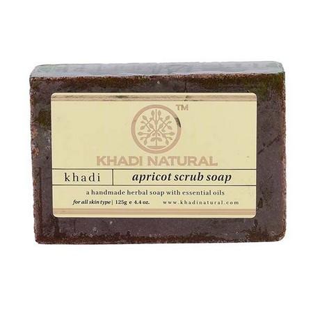 Khadi Herbal Apricot Scrub Soap