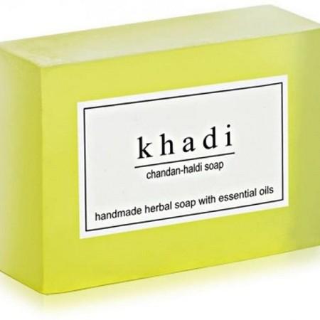 Khadi Herbal Chandan Haldi Soap