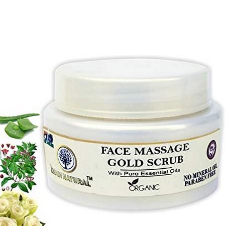 Khadi Herbal Face Massage Gold Srub