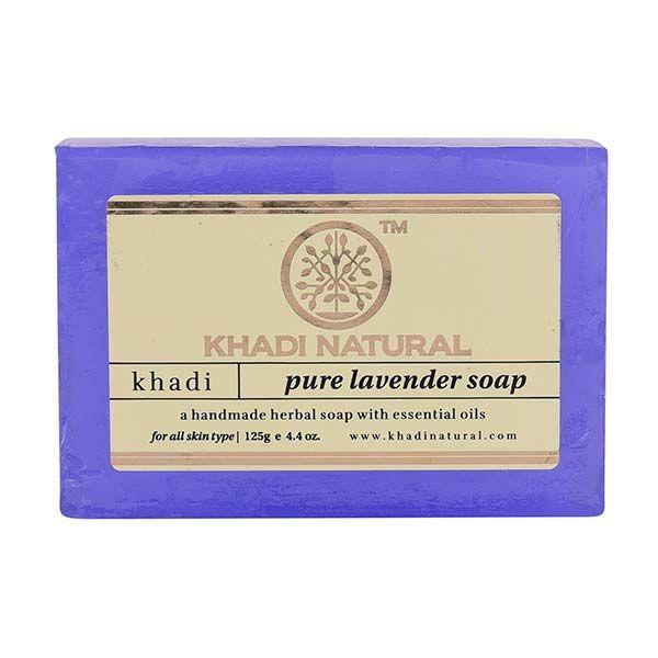 Khadi Herbal Pure Lavender Soap