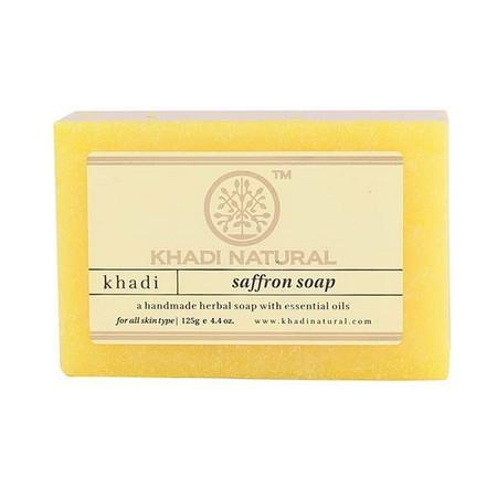 Khadi Herbal Saffron Soap