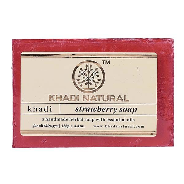 Khadi Herbal Strawberry Soap