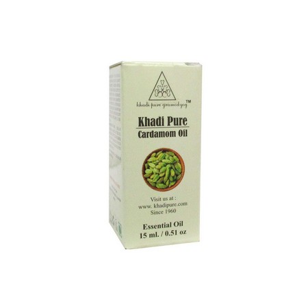 Khadi Herbal Cardamom Essential Oil