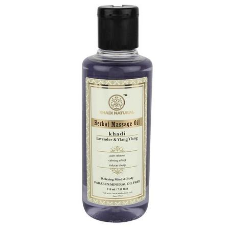 Khadi Lavender And Ylang Ylang Massage Oil