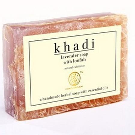 Khadi Lavender Loofah Soap