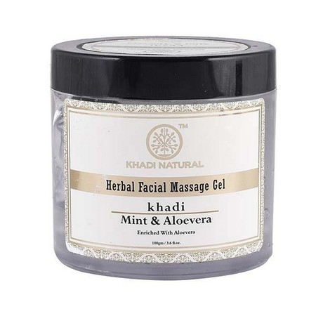 Khadi Mint And Aloevera Face Massage Gel