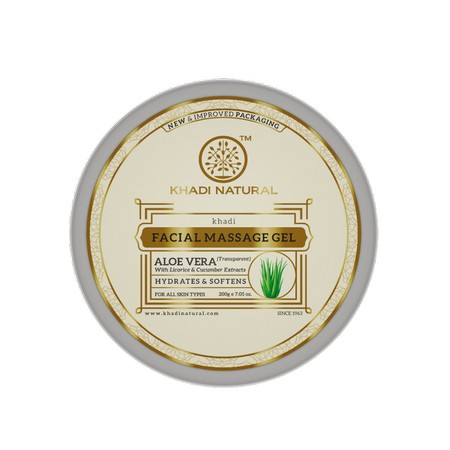 Khadi Natural Aloevera Gel With Liqorice And Cucumber Extracts
