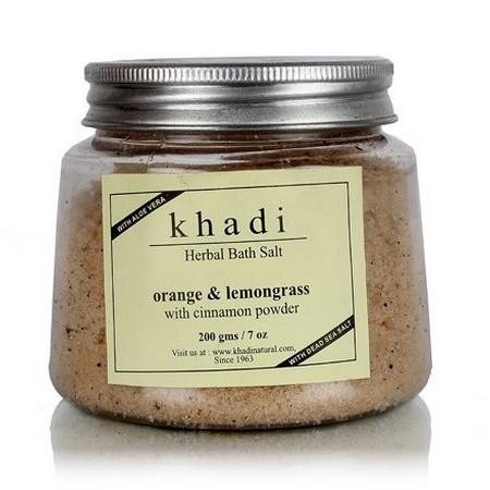 Khadi Orange And Lemongrass With Cinnamon Powder