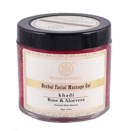 Khadi Rose And Aloevera Face Massage Gel