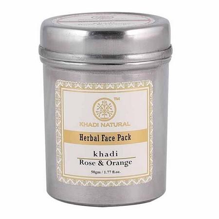Khadi Rose And Orange Face Pack
