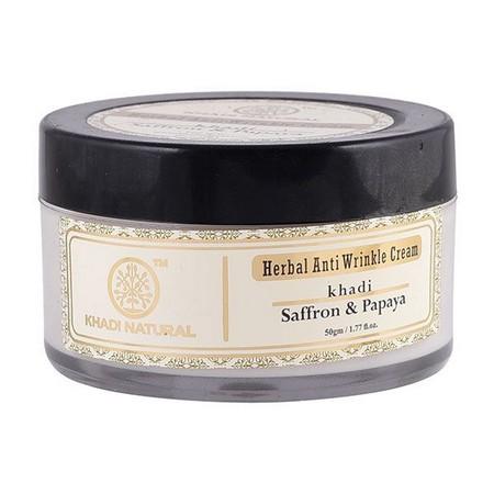 Khadi Saffron And Papaya Anti Wrinkle Cream