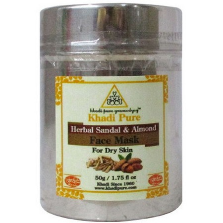 Khadi Sandal And Almond Face Pack