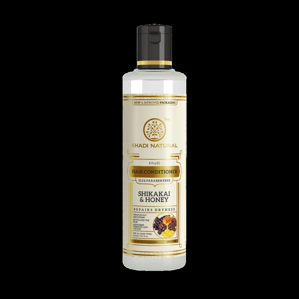 Khadi herbal Shikakai and Honey Hair Conditioner SLS and Paraben Free