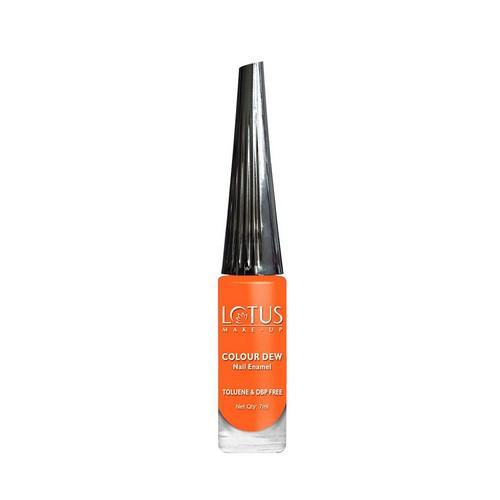 Lotus Herbals Nail Enamel Colour Dew Orange Fusion 7 ml