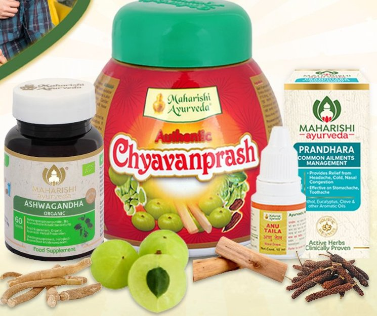 Maharishi Ayurveda Immunity Kit  Complete Family Protection
