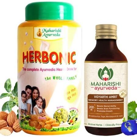 Maharishi Ayurveda Herbonic and Vidyarthi Amrit