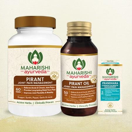 Maharishi Ayurveda Pain Relief Therapy
