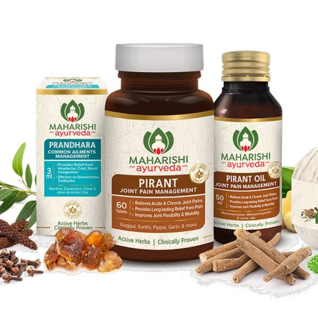 Maharishi Ayurveda Pain Relief Therapy With Patra Potli