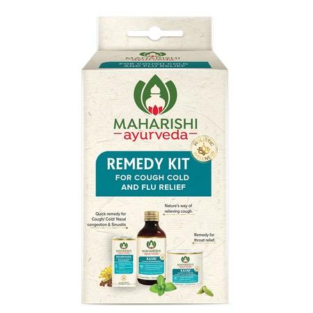Maharishi Ayurveda Remedy Kit for Cough Cold and Flu