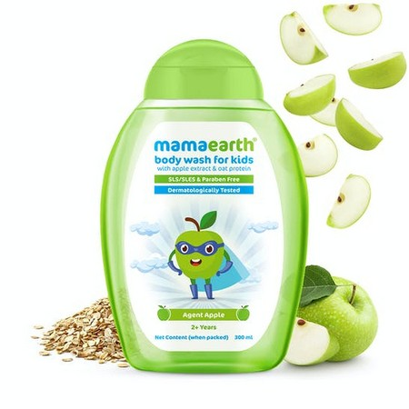 Mamaearth Agent Apple Body Wash for Kids