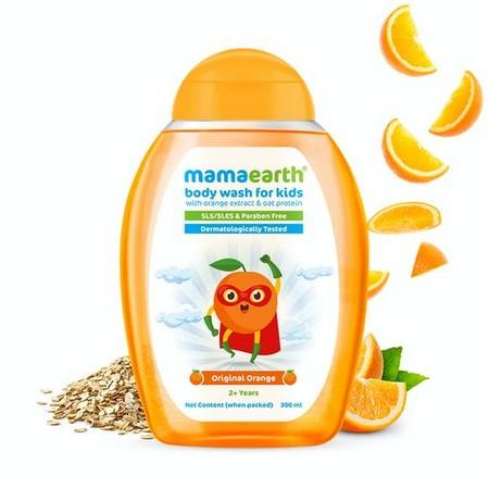 Mamaearth Original Orange Body Wash For Kids