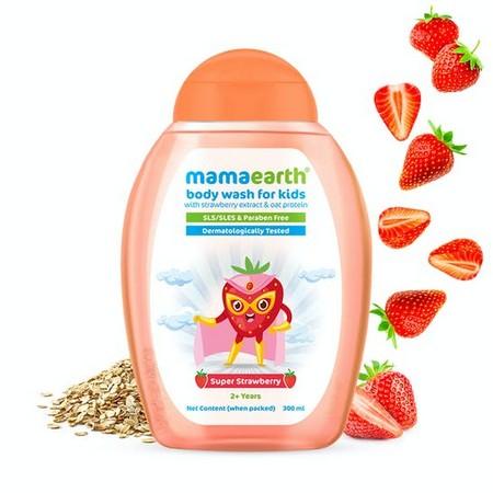 Mamaearth Super Strawberry Body Wash for Kids