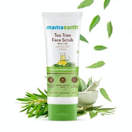 Mamaearth Tea Tree Face Scrub