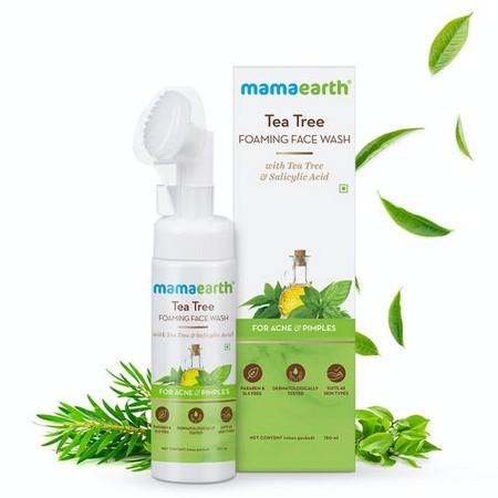 Mamaearth Tea Tree Foaming Face Wash