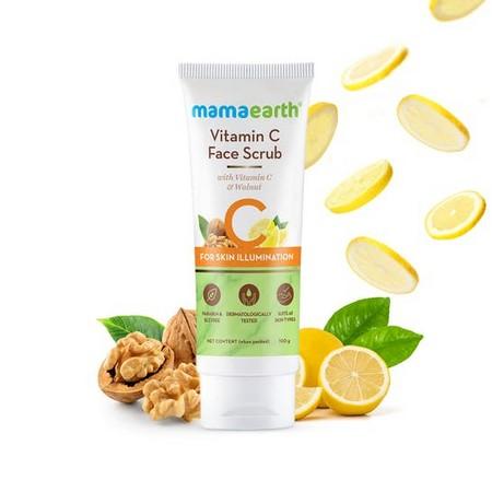Mamaearth Vitamin C Face Scrub