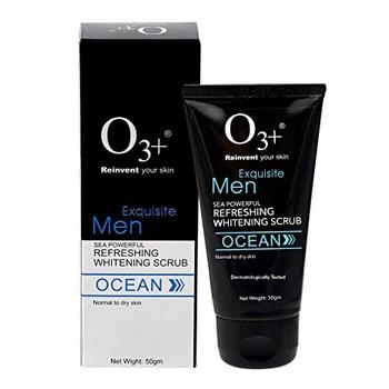 O3+ Men Sea Powerful Refreshing Whitening Scrub